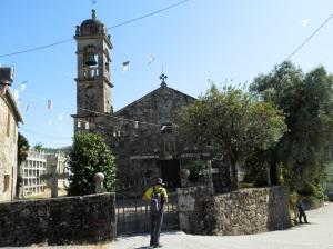Iglesia de San Andrés de Cures