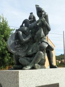 Monumento a Os Gaiteiros de  Soutelo