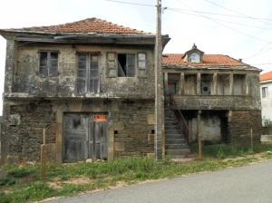 Casas abandonadas en Sanguiñedo