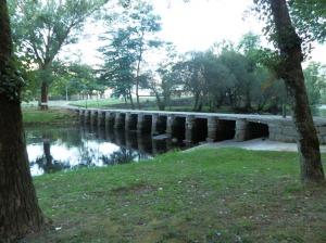 Ponte das Poldras en Leiro