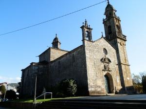 Iglesia de Santa María en Cuntis